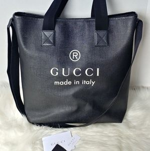 GUCCI Trademark 3-way Shoppers Tote